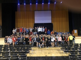 USD 243 Students at Audrie and Daisy Screening