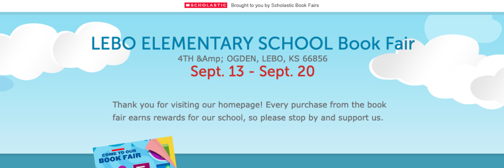 Lebo Elementary School Book Fair
