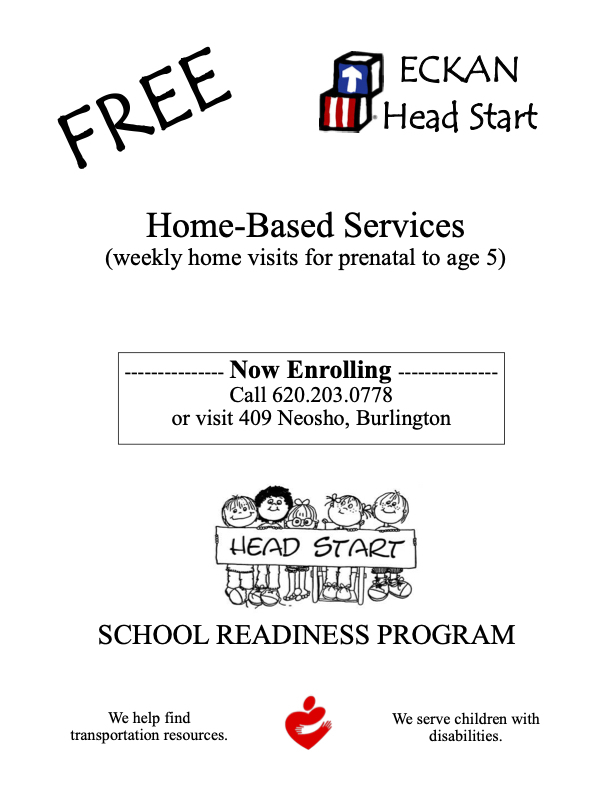 FREE ECKAN HEAD START HOME-BASED SERVICES