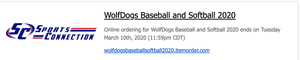 WolfDog Baseball Softball Gear