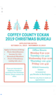 Coffey County ECKAN 2019 Christmas Bureau