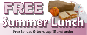 FREE SUMMER LUNCH