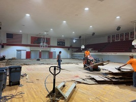 Gym Remodel Underway