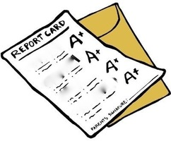 Lebo School Library Report Card for the 2nd 9 Weeks