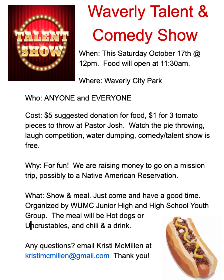 Waverly Talent &  Comedy Show USD243