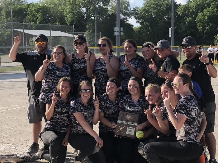 WolfDog Softball team wins Regional