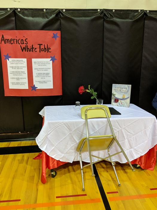 White Table-4th Grade