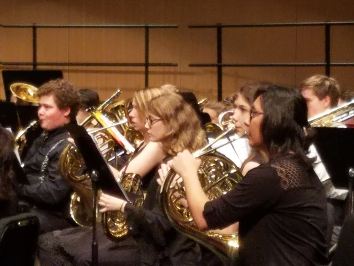 Grace Schulze, KMEA SE Honor Band, 12/1, PSU