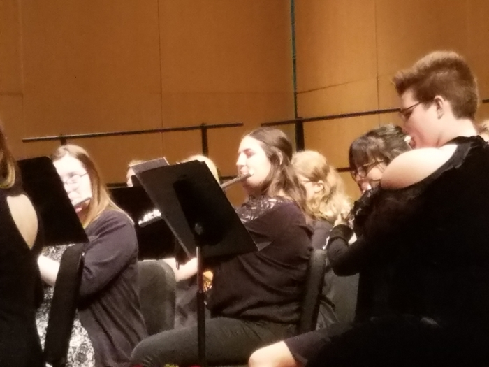 Krista Charboneau, KMEA SE Honor Band, 12/1, PSU