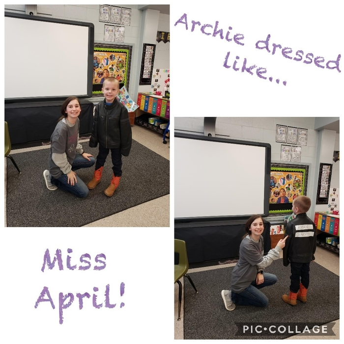 Archie and Miss April