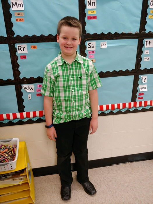 Gavin is Mr. Tatro (one of our subs)!