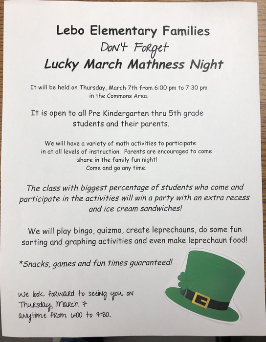 Lucky March madness night