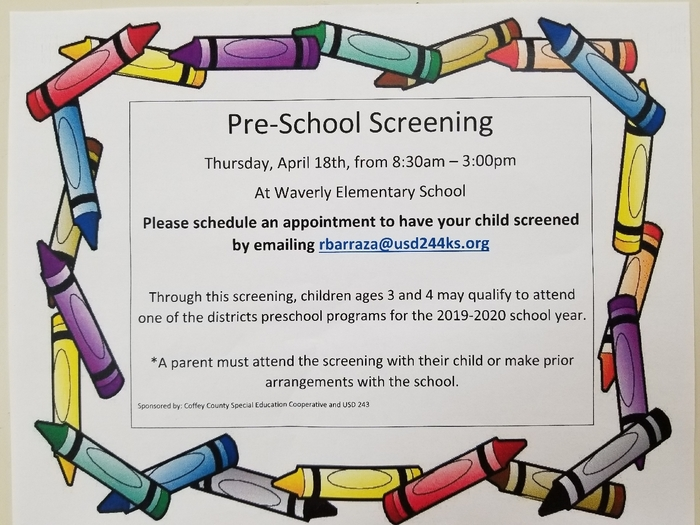 PreK Screening 04/18/19