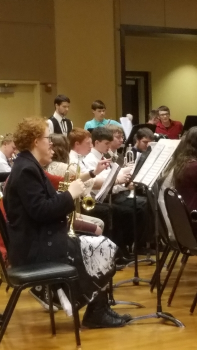 LCL High School band concert