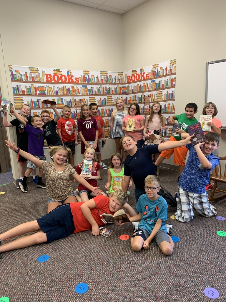 First library class for fourth grade