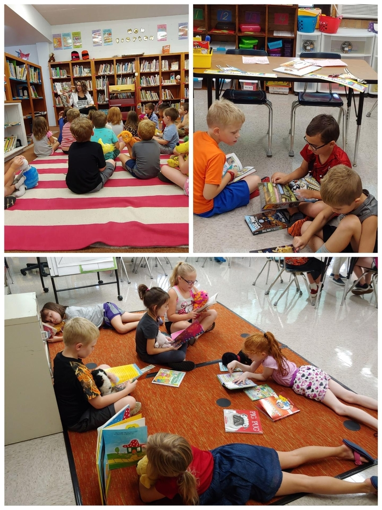 Read With a Buddy Day!