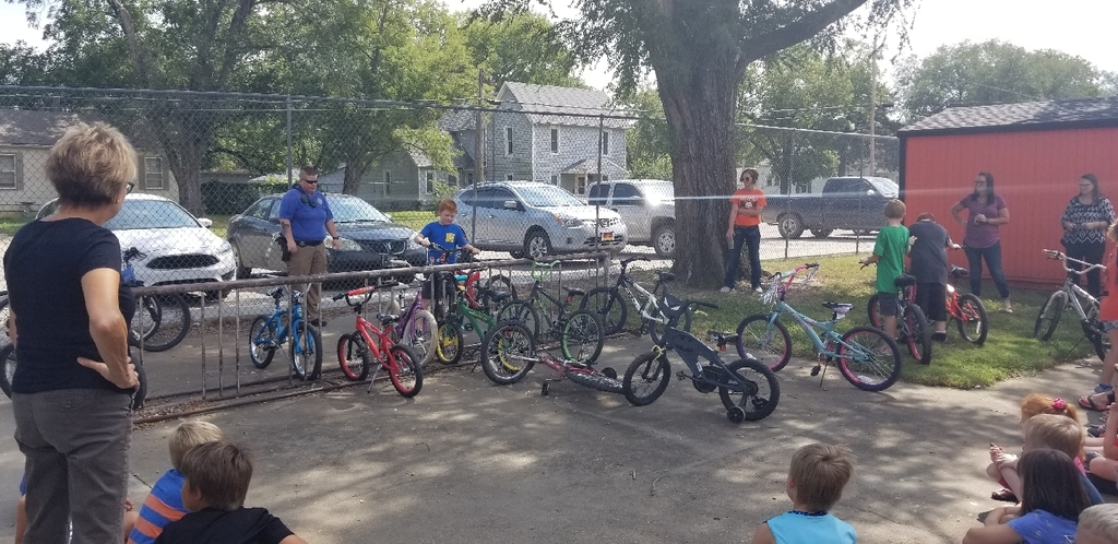 Bike Safety Assembly SRO Jess Stice