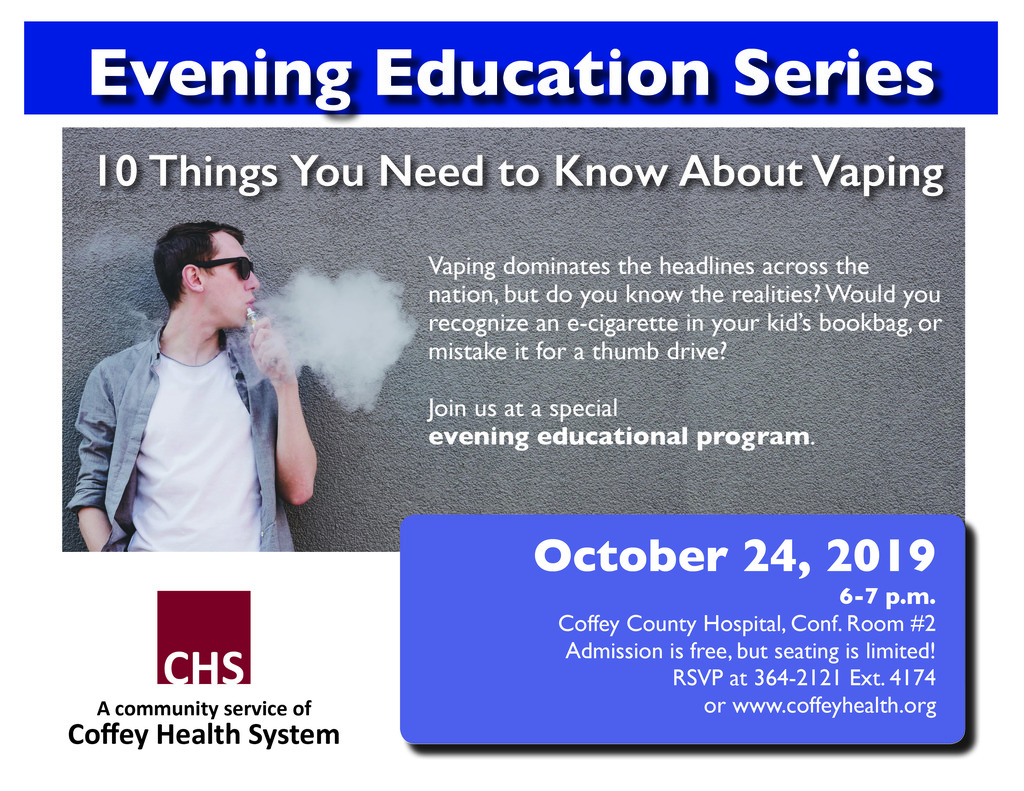 Coffey County Health Systems Educational Series
