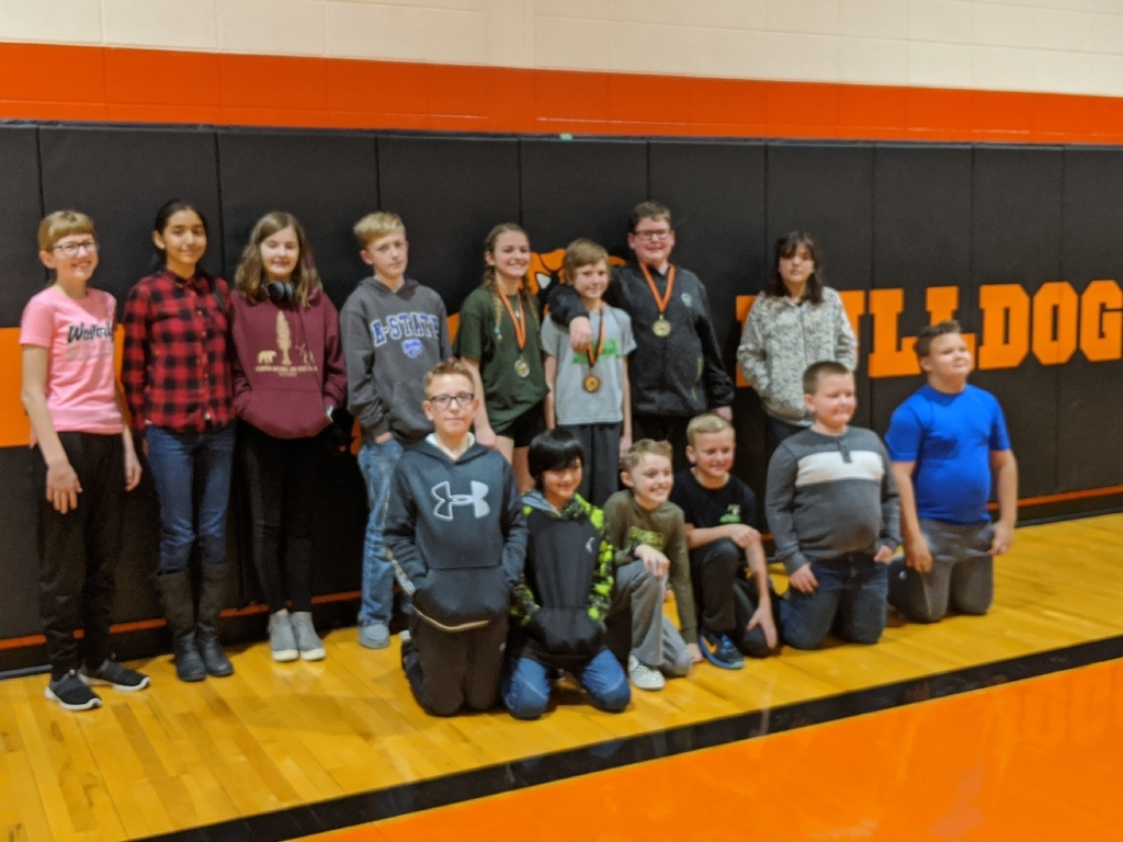 Waverly Spelling Bee Participants