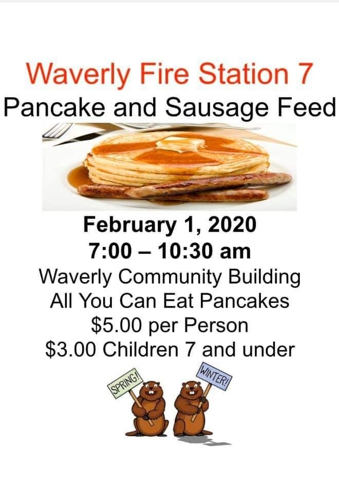 Fire Department Pancake Feed