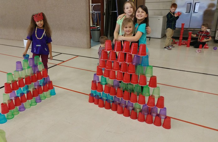 100th Day Cup Stacking K-3