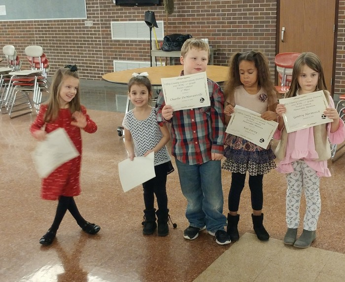 K-1 Conservation Poster Winners