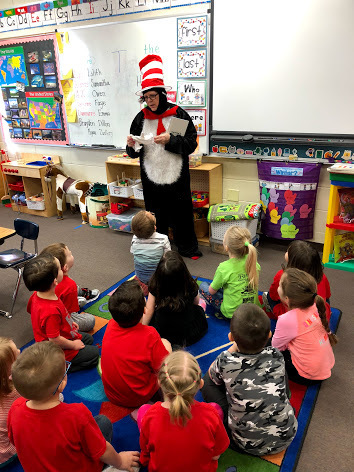 Lebo Elem. celebrates Dr. Seuss's Birthday!