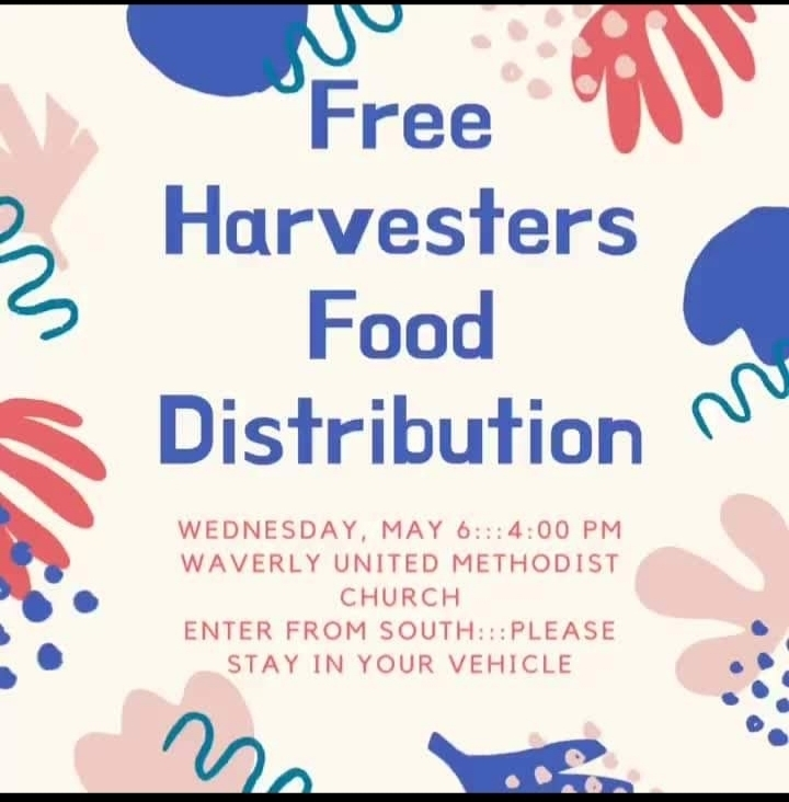 Food distribution Waverly Kansas USD243